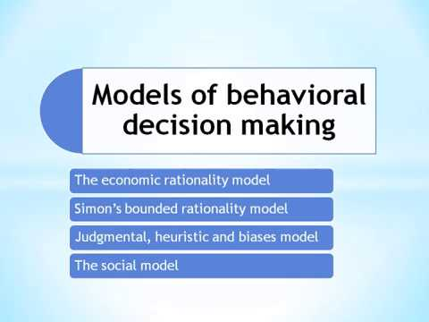 models of decision making essay Decision-making is very crucial in nursing practice the nursing and midwifery council identifies the professional responsibility in the code of professional conduct.