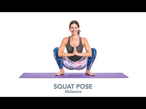 squatting yoga poses