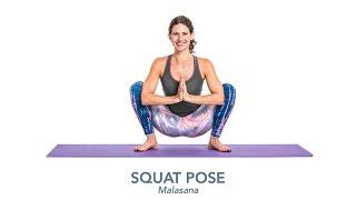 Yoga Poses & Articles | Squat Pose (Malasana)