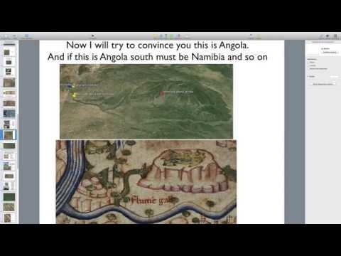 fra mauro map 3 sobre angola
