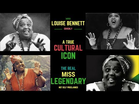 """Louise Simone Bennett-Coverly """"Miss Lou"""" Jamaica's Cultural ICON & National TREASURE!"""