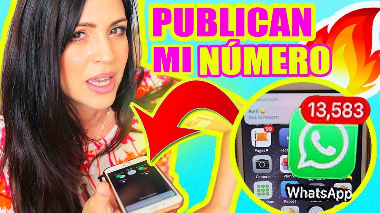 Publican Mi Numero De Celular Broma Pesada A Sandraciresart La Venganza Del Pipi
