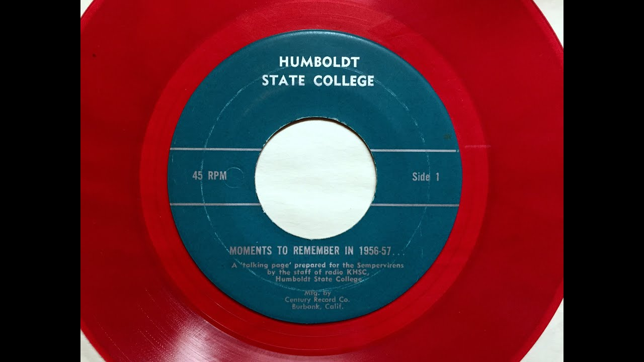 1956 57 Humboldt State University Moments To Remember College Memories
