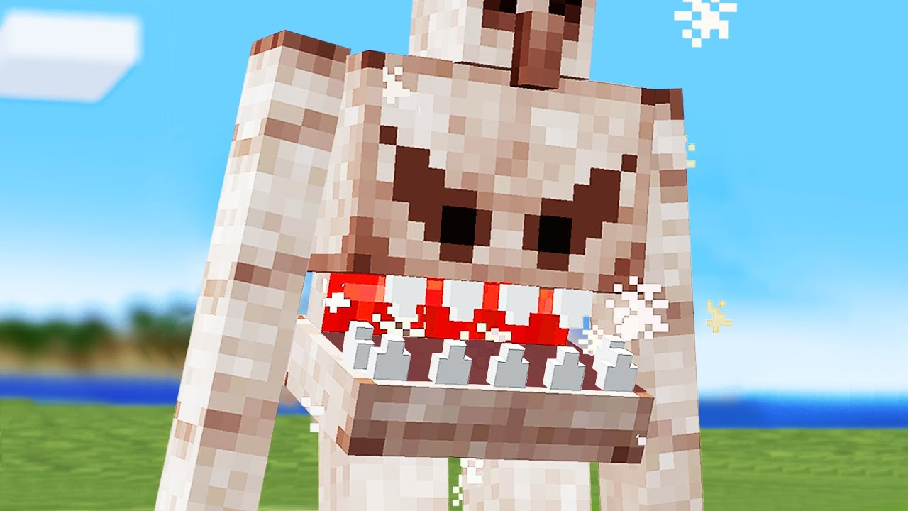 Minecraft mobs if they were SUPER hungry