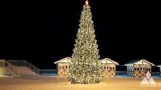 Ёлка световая. Ёлкин Дом | Christmas tree with LED Lights. Elkin Dom