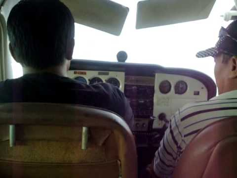SANJOG SHAKYA NEPAL PRIVATE PILOT LICENCE NO.01 FLYING IN PHILIPPINES