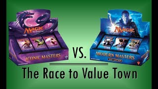 iconic masters vs modern masters 2017 box openings