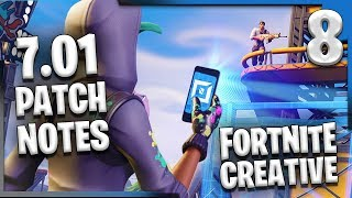 FORTNITE CREATIVE 7.01 NOTES DE PATCH! Fortnite Creative Update E8 (en)