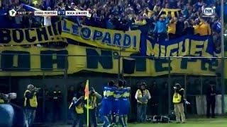 Como visitante, Boca consiguió un valioso triunfo en el choque de ida