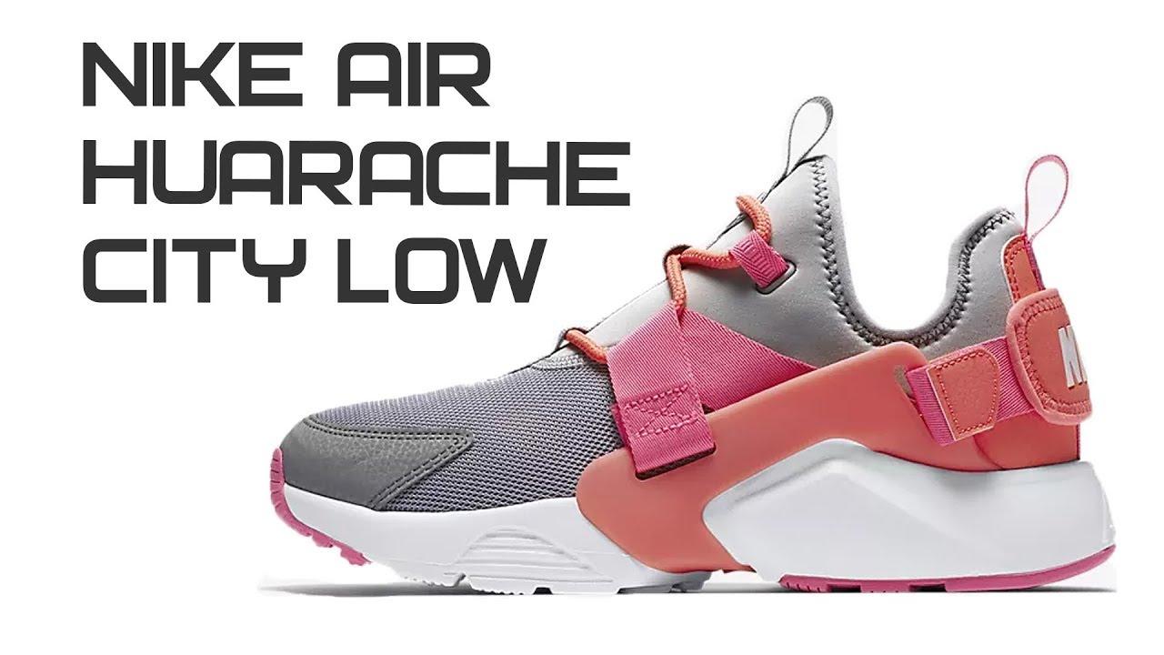 e28637f451d90 Обзор кроссовок Nike Air Huarache City Low - YouTube