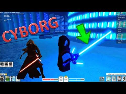 Getting The Cyborg Crossguard Lightsaber In Ilum 2 Roblox Star