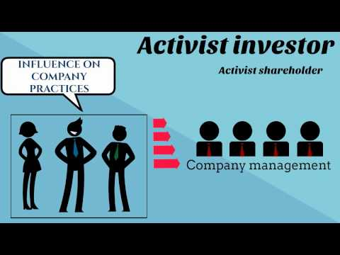 What is an Activist Investor?