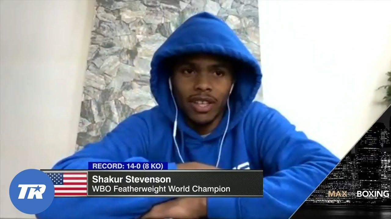 Shakur Stevenson outlines plans to move to 130 I WANT MIGUEL BERCHELT!