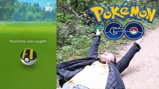 POKEMON GO CLICKBAIT + FLIPPING MACHAMP!! | Pokémon GO (Dutch)