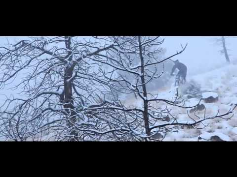 Downhill Extreme Mountainbiking on SNOW DUBSTEP MTB HD 720p