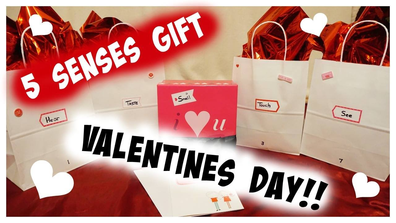 Diy 5 Senses Gift For Valentines For Your Boyfriend Husband Youtube