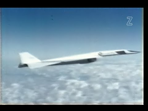 XB-70A Valkyrie Supersonic Bomber Flight Test Program - 1968 Restored - Color