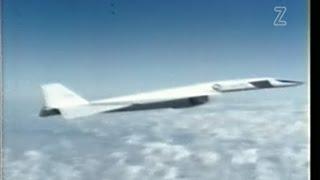 XB-70A Valkyrie Supersonic Bomber Flight Test Program - 1968 Restored - Color