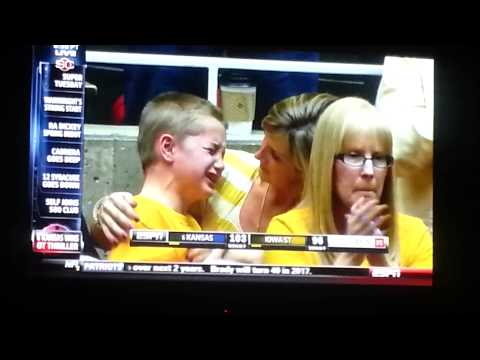 Iowa State kid cries after another loss
