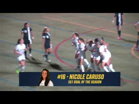 New Haven Women's Soccer Highlights vs. SCSU