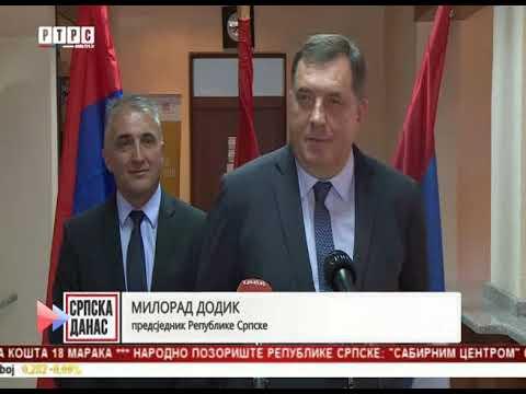 Dodik: Imam informaciju da je opozicija dobila pet miliona KM za blokadu NSRS!