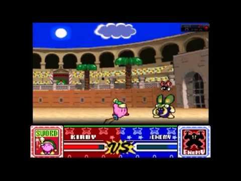 Kirby Super Star Peleas Del Coliseo Juegos Viejos Youtube