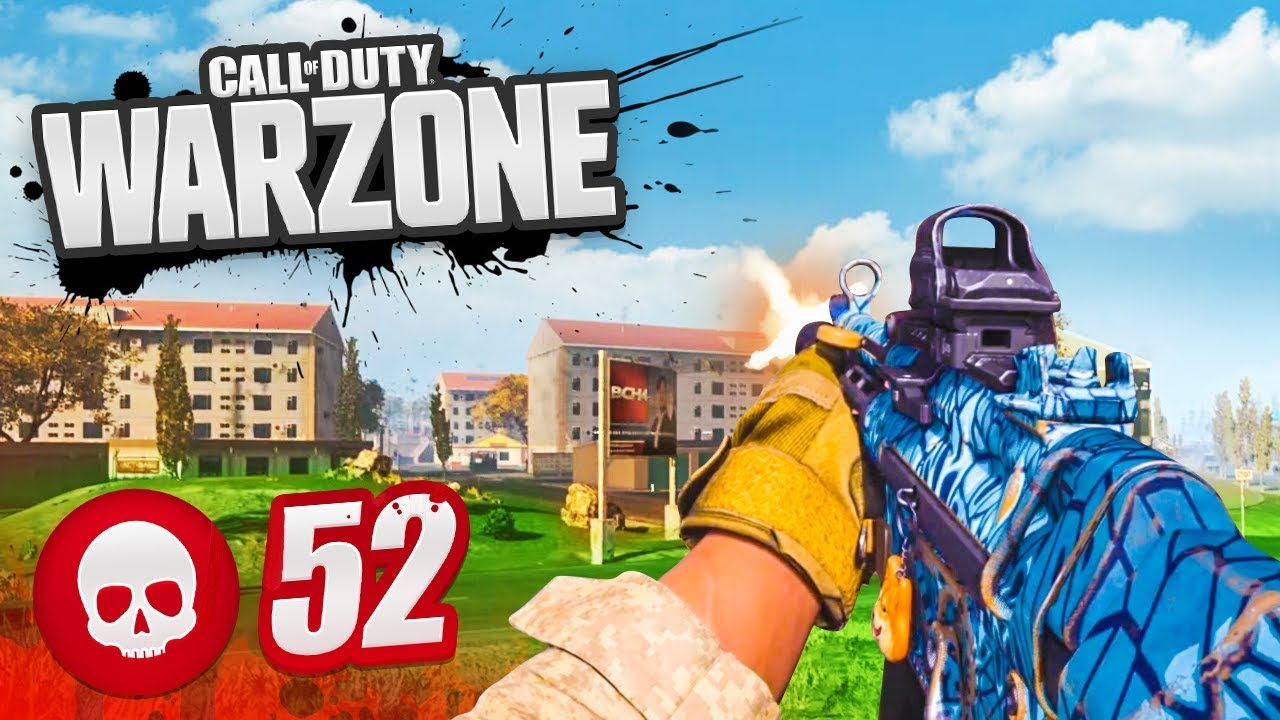 52 KILL GAME in WARZONE! (CoD Battle Royale)