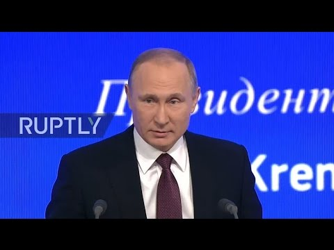LIVE: Putin to hold annual press conference in Moscow - English