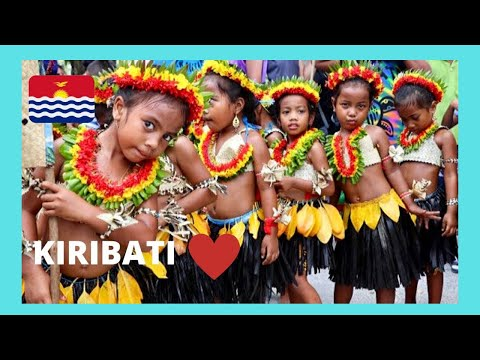 KIRIBATI - WONDERFUL PEOPLE, beautiful FACES AND SMILES  (Tarawa Atoll, Pacific Ocean)
