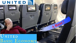 United Airlines BASIC ECONOMY: WATCH BEFORE YOU BOOK!