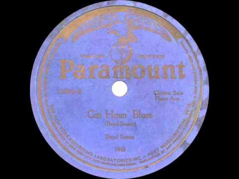 Boyd Senter - Gin Houn' Blues - 1924