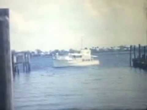 Rybovich Boat Works, West Palm Beach: Yacht Repair and Relaunch, 1965