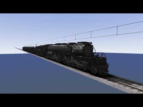 UP Big Boy at 300+ kph!! (Train Simulator 2020) |