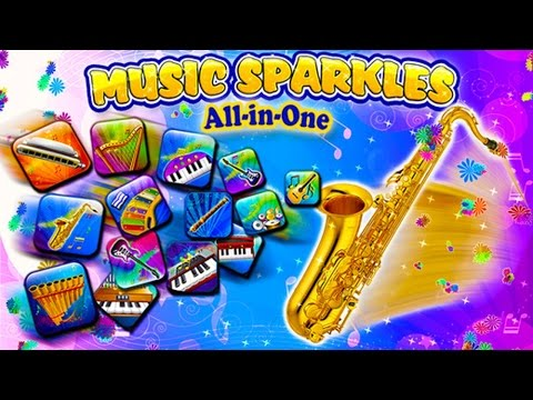 Music Sparkles - Musical Instruments Collection (By TabTale LTD) Cartoon Game Episode for Kids