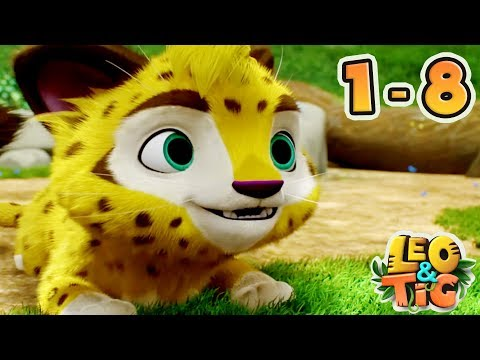 Leo And Tig - All 8 Episodes Collection - New Animated Movie 2018 - Kedoo ToonsTV