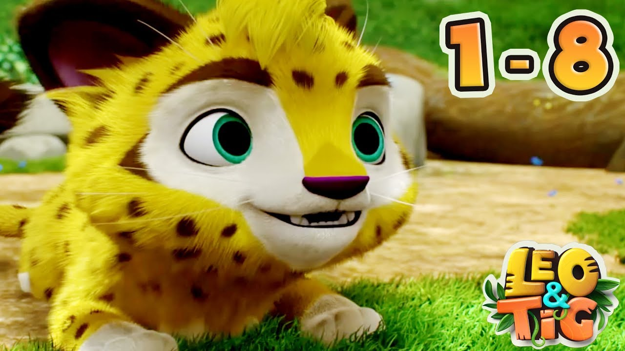 Download Leo and Tig - All 8 episodes collection - New animated movie 2018 - Kedoo ToonsTV