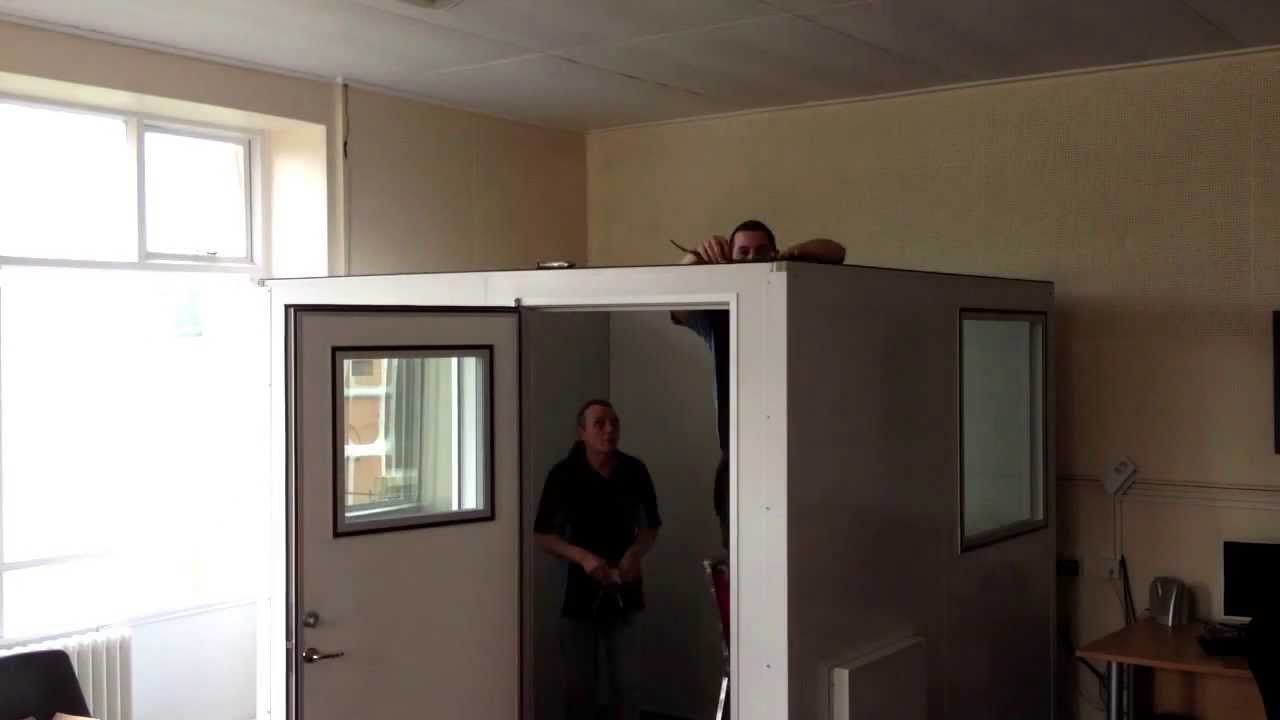 Advanced Acoustics Silent Space Isolation Booth By Time Lapse Installation Youtube