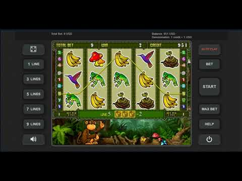 Игровой автомат CRAZY MONKEY 2 играть бесплатно и без регистрации онлайн