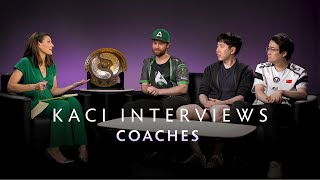 Coaches Interview with Kaci - The International 2019