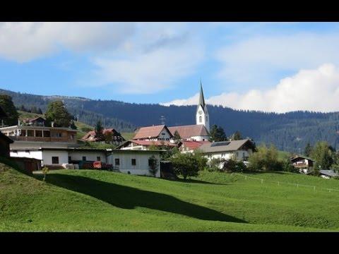 Hirschegg, Kleinwalsertal, Austria - return trip to Kinderkurheim Hägele, a childhood residence