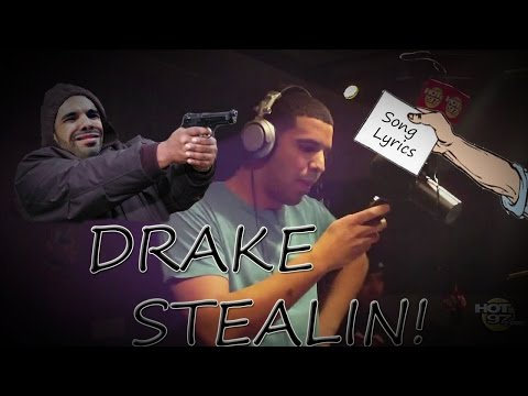 Drake Stealing LYRICS! (PROOF!)