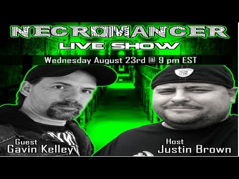 Necromancer Live Show Ep #8 with Gavin Kelley & Paula Purcell