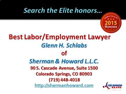 Glenn H. Schlabs Named Best Labor/Employment Lawyer