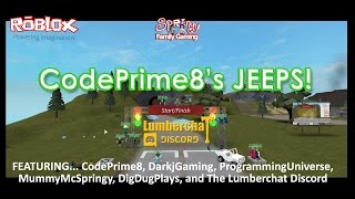 SFG - Roblox - CodePrime8's Jeeps Collab - Played by the Lumberchat Discord!