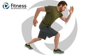 Intense At Home Pyramid HIIT Workout with Warm Up & Cool Down