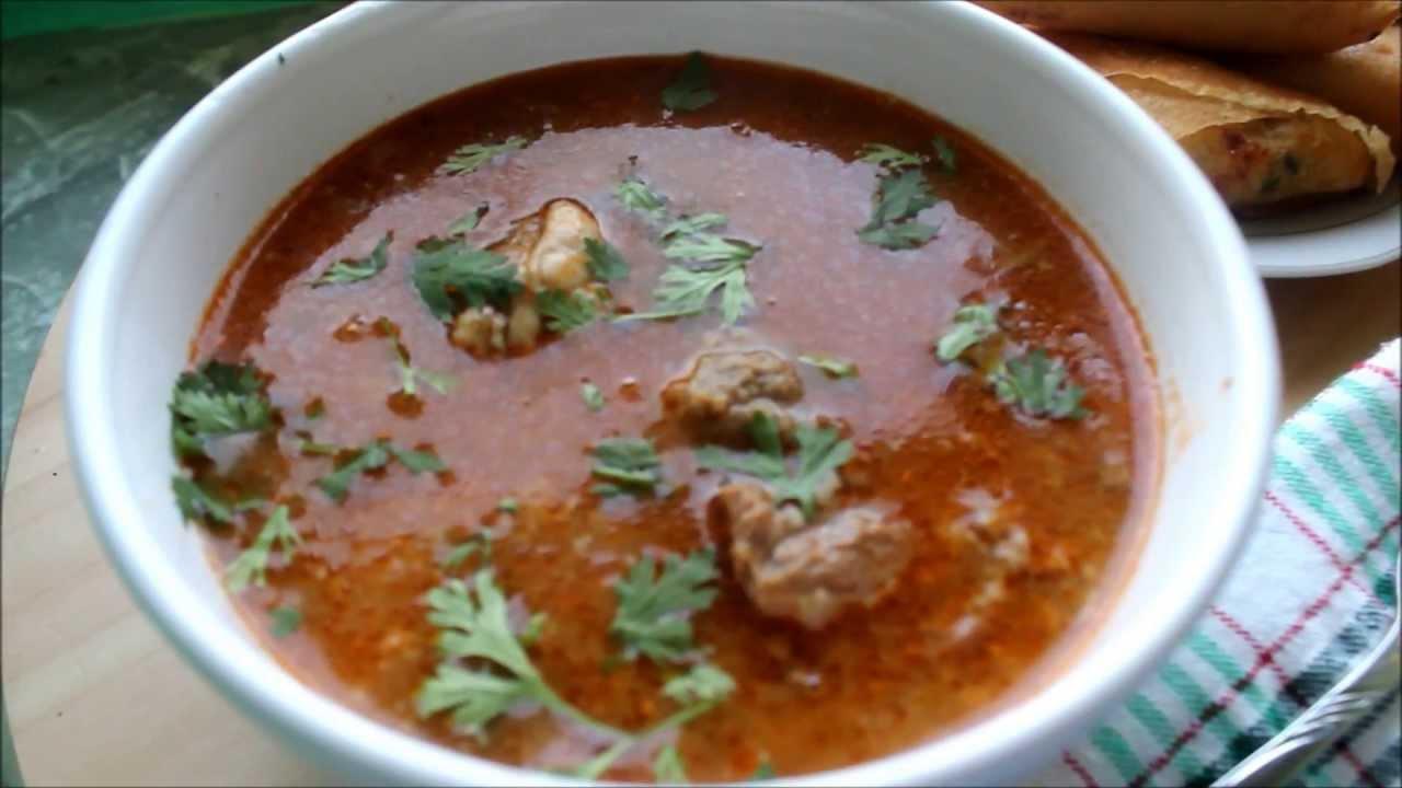 chorba frik/ soupe algerienne / recette de ramadan de la cuisine