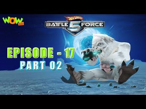 Motu Patlu presents Hot Wheels Battle Force 5 - Cold As Ice - Episode 17-P2- in Hindi