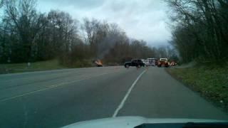 Wreck on Warfield Blvd.