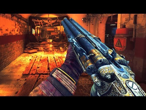 NEW BEST CUSTOM ZOMBIES MAP OF ALL TIME!? \'Return to Das Herrenhaus\' (Call  of Duty Zombies)