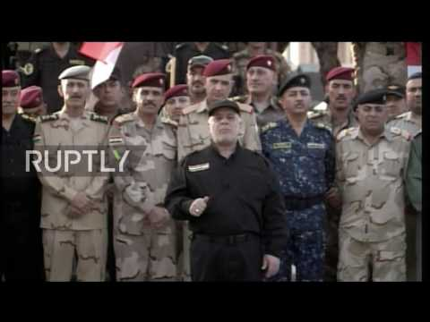 Iraq: PM Al-Abadi announces formal victory against IS in Mosul